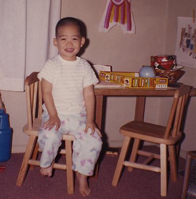 Dan, age 3