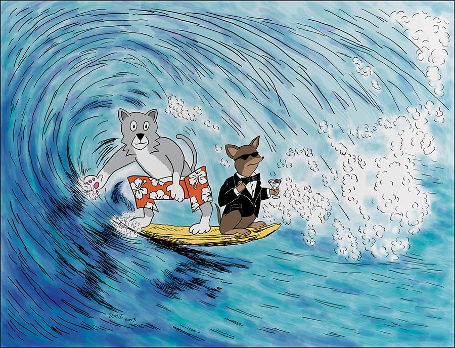 Surf! Spy!—Secret Agent Pets