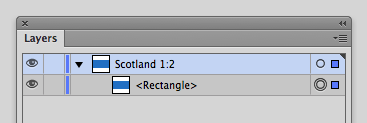 Rename the layer, Scotland 1:2