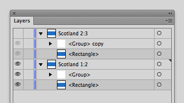 "Duplicate and rename layer ""Scotland 2:3"""