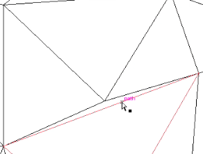 polygon misalignment