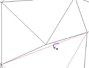 polygon misalignment