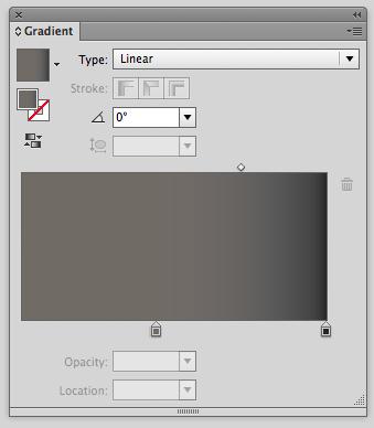 gradient panel