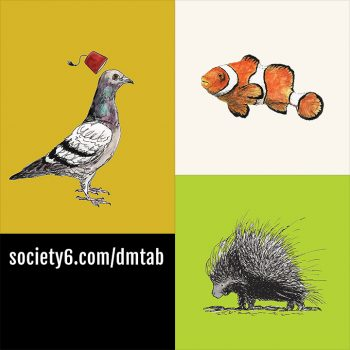 Dan's art at Society6
