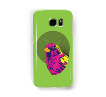 Sparrow Spectrum design decorating a Redbubble phone case