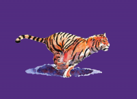 Society6 version of the tiger