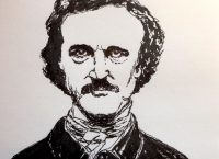 Drawing of Edgar Allan Poe