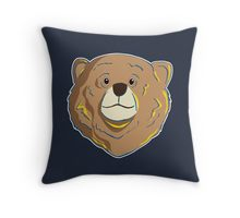Redbubble happy bear pillow