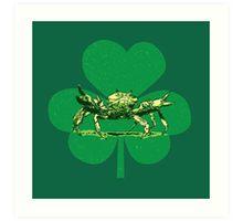 Pinch 'o green art print