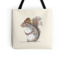 Redbubble squirrel tote bag