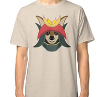Redbubble Daimyo Dog Tee Shirt
