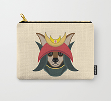 Society6 Daimyo Dog pouch