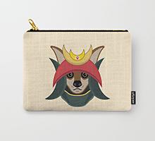 Society6 Daimyo Dog pouch