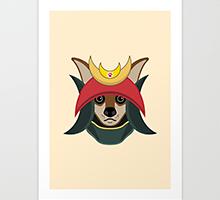 Society6 Daimyo Dog art print