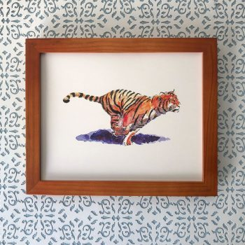 Bengal Tiger 8x10 print at Etsy