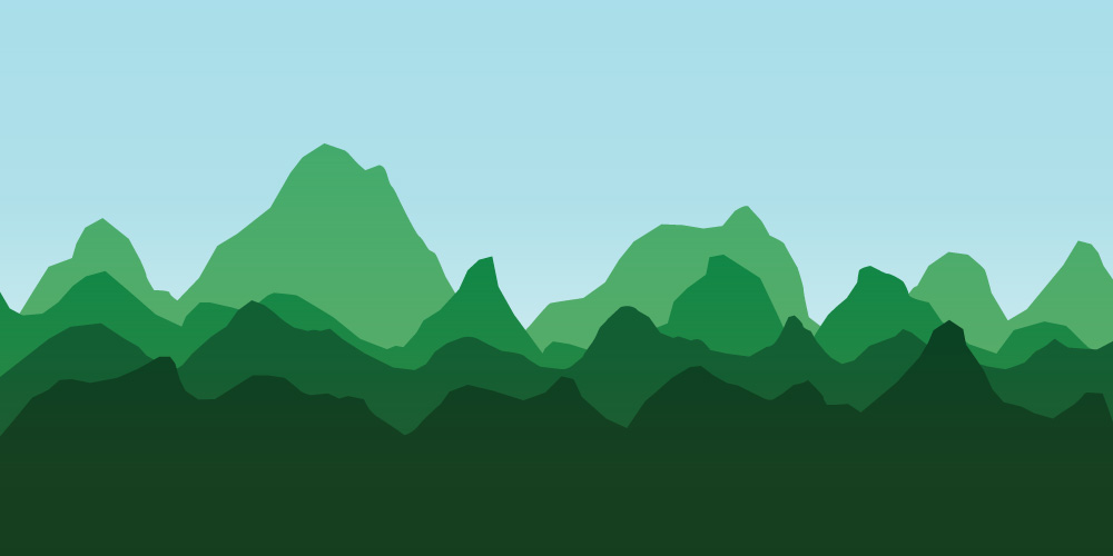Mountain Range, midday