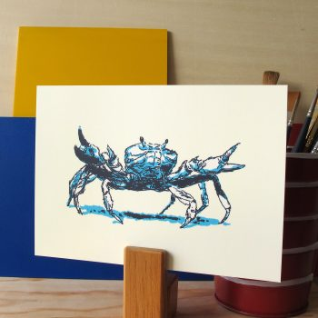 Ghost Crab 5x7 art print