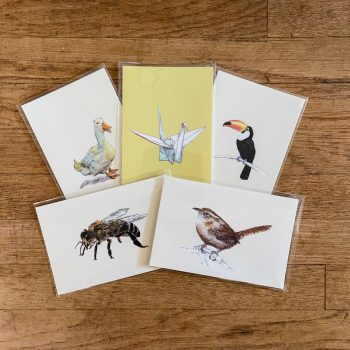 Winged Animal Postcards